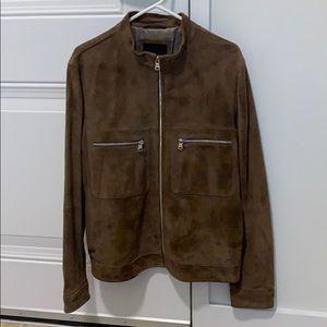Men's Suede Jacket from Banana Republic